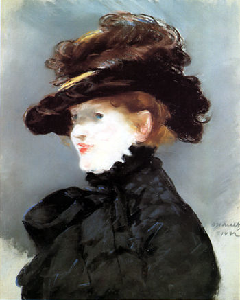 Manet Portrait deMery Laurent