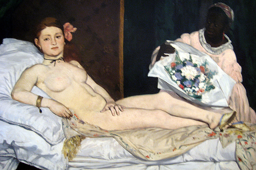 Manet, l'Olympia