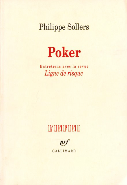 Philippe Sollers - Poker