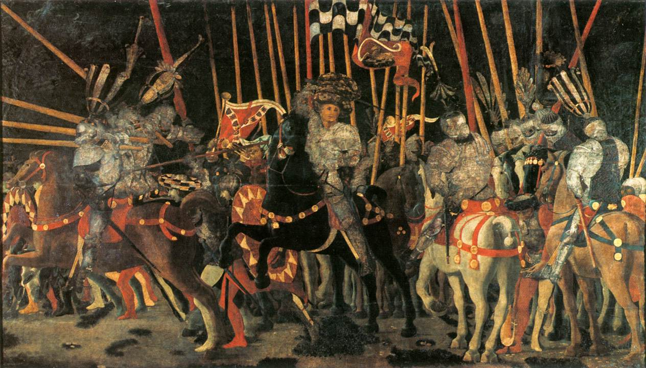 UCCELLO, Paolo Micheletto da Cotignola Engages in Battle 1450s