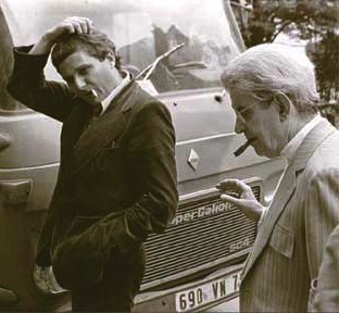 Philippe Sollers & Jacques Lacan, 1975