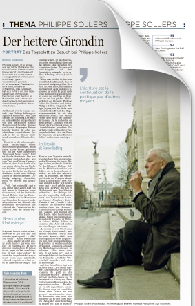 Philippe Sollers - Luxembourg