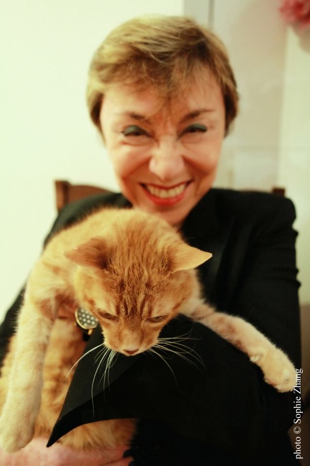 Julia Kristeva, photo Sophie Zhang 2015