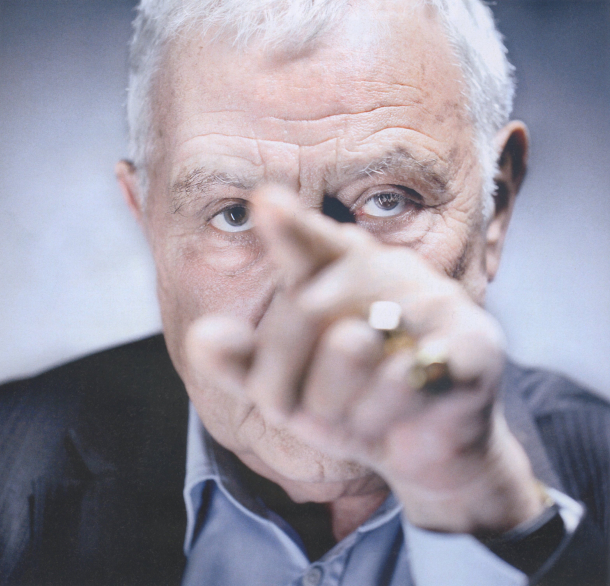 Philippe Sollers, photo Olivier Roller