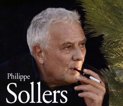 Philippe Sollers, photo Sophie Zhang