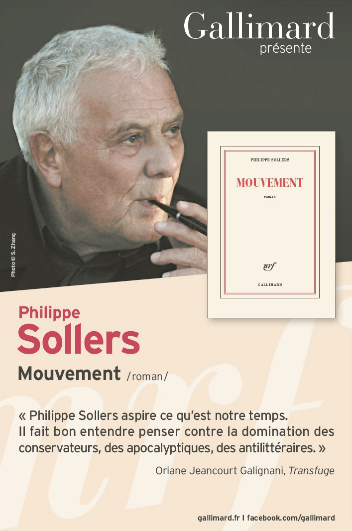 Sollers - Mouvement - photo : Sophie Zhang